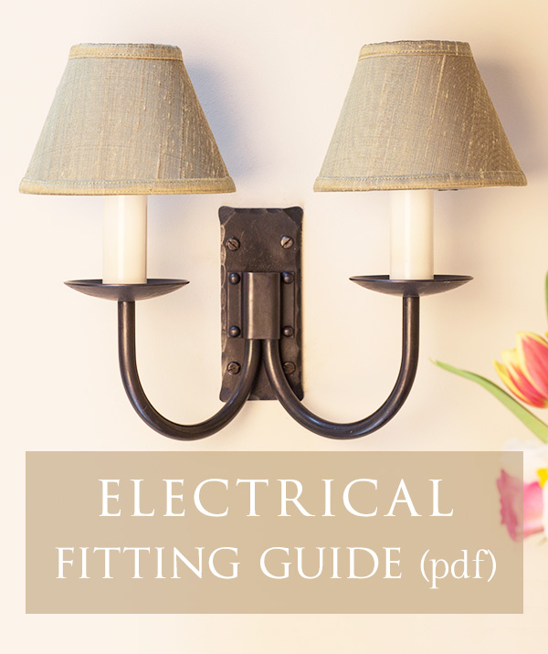 Lighting - electrical fitting guide [ pdf ]