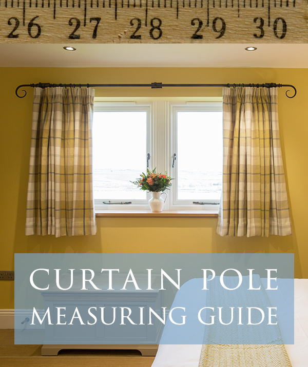 Curtain poles - a guide to measuring