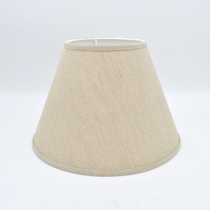 Oatmeal Linen Lampshade 355mm 14, 14 Inch Lamp Shade Linen