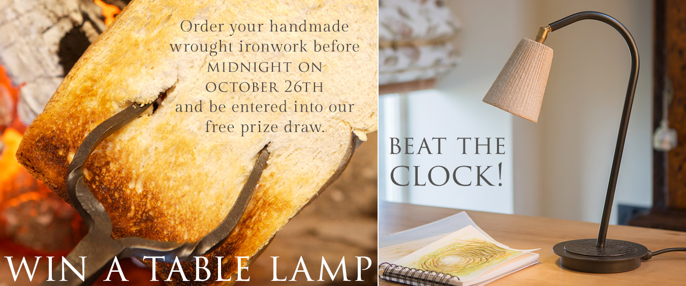 Beat the Clock! Place your order before midnight October 26th to enter our prize draw