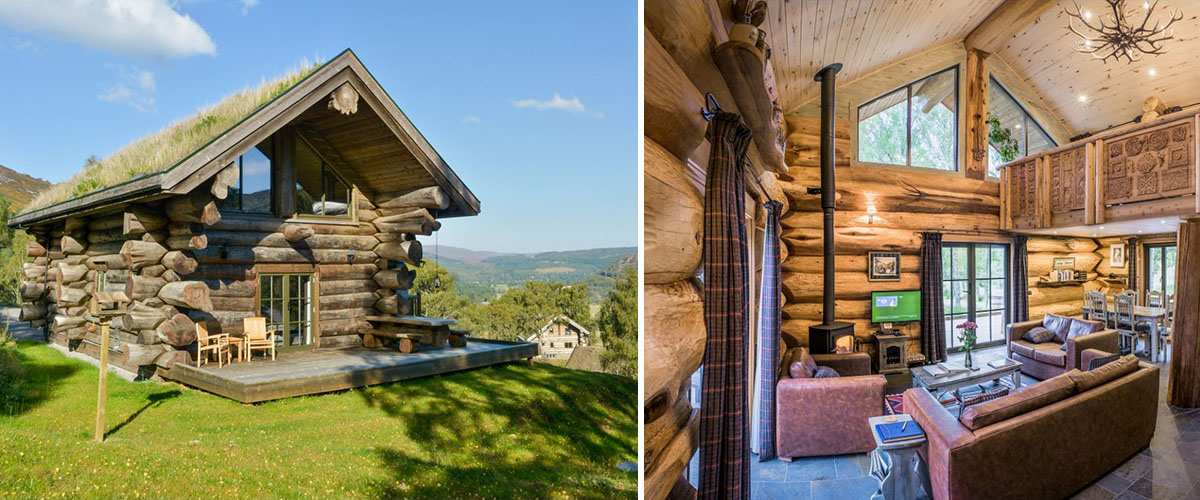 Case study - Ironwork for log cabins in the spectacular Highlands