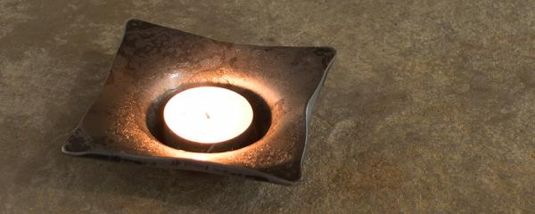 Introducing our handmade wrought iron tealight candle holders