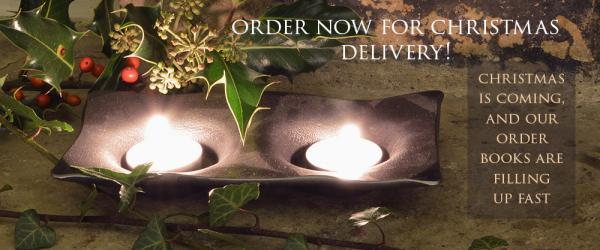 Christmas is coming - order now for a festive delivery