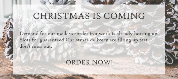 Christmas is coming - please order soon for a festive delivery