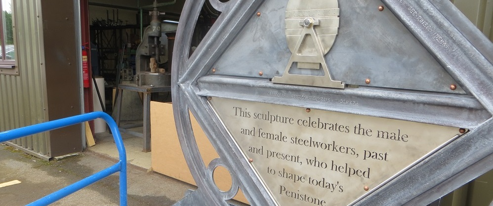 Creating a community sculpture to celebrate our steelmaking heritage