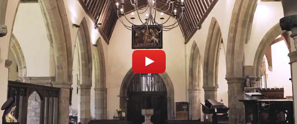Video - A special chandelier for a beautiful country church (1:43)
