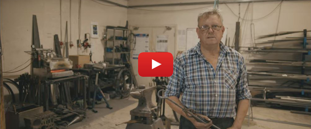 Video - Nigel Tyas Ironwork - The History Of Metalworking (7:40)