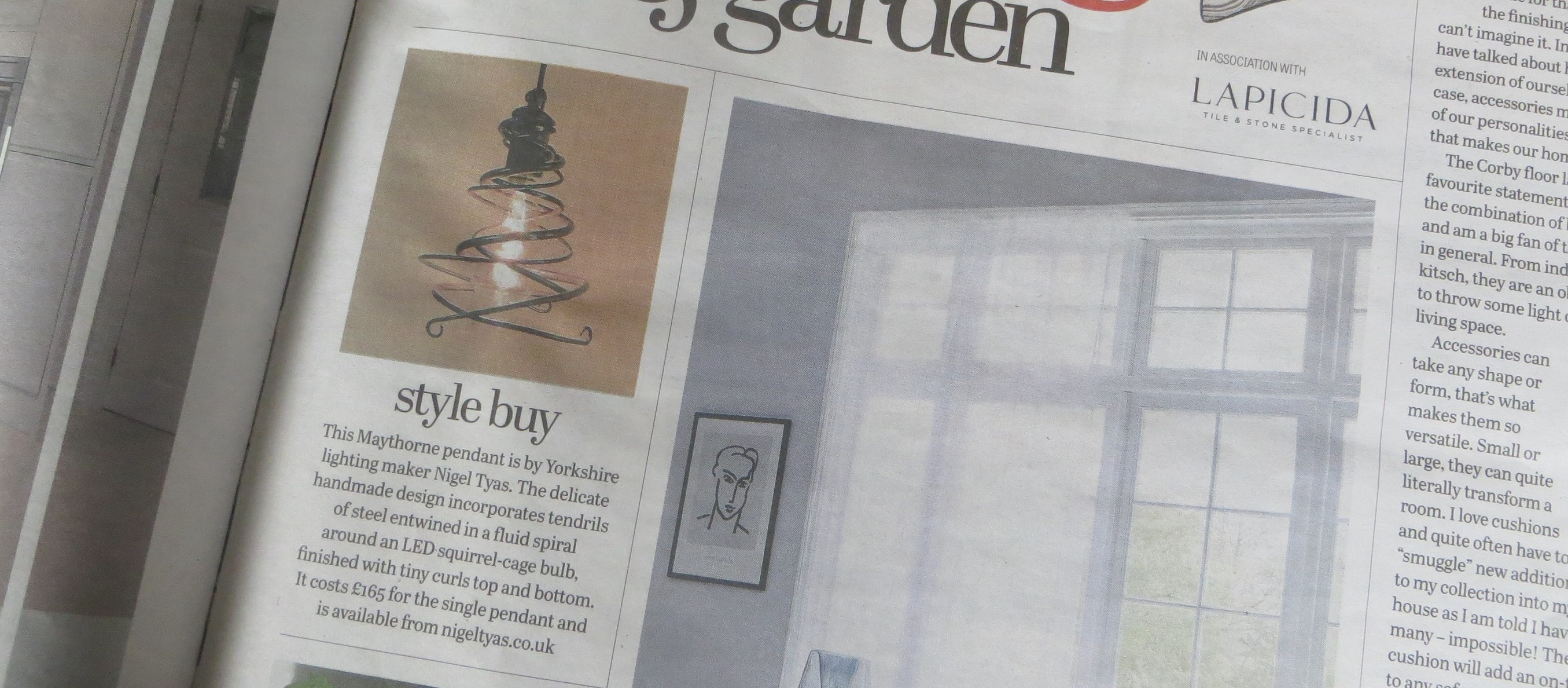 Maythorne is editor's 'style buy' of week in Yorkshire Post
