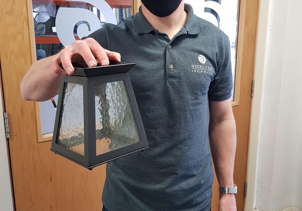 Blacksmith Friday - Carlecotes lantern