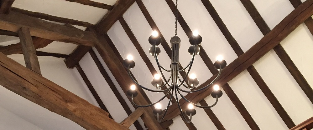 Lighting and curtain poles for heritage properties