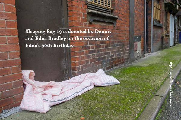 Nigel Tyas blog - sleeping bag project