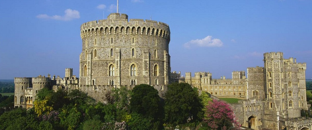Windsor Castle - lanterns supplied by Royal Appointment