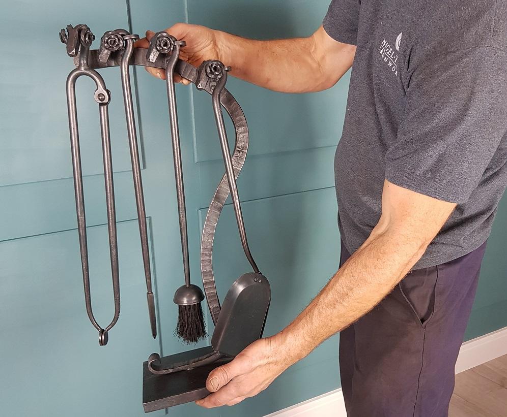 Blacksmith Friday - bespoke companion set