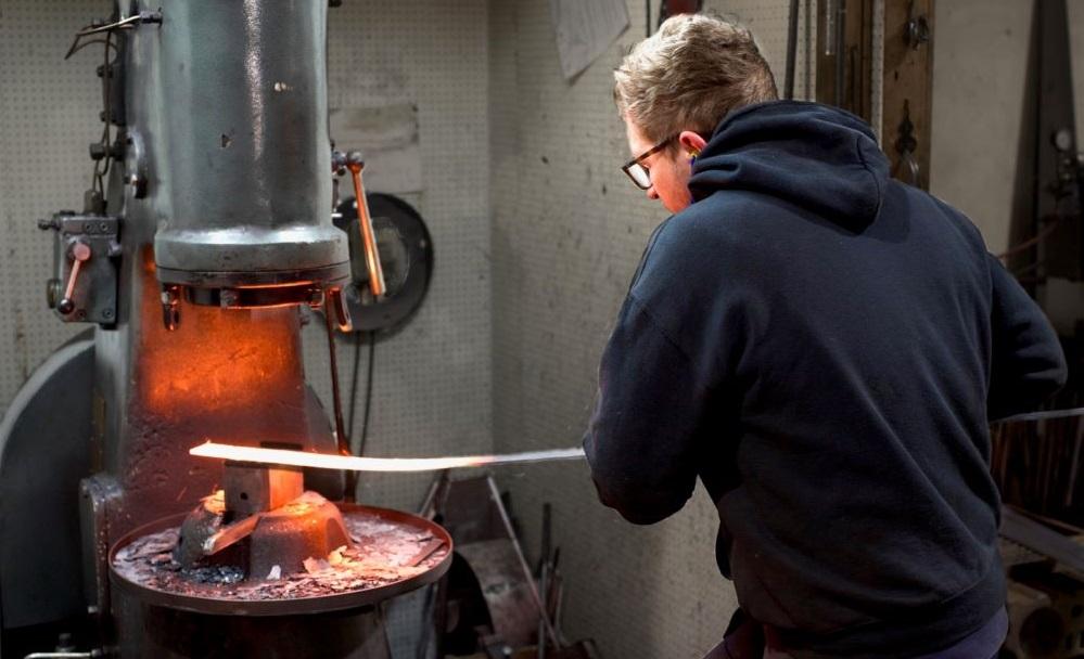 British made by skilled blacksmiths