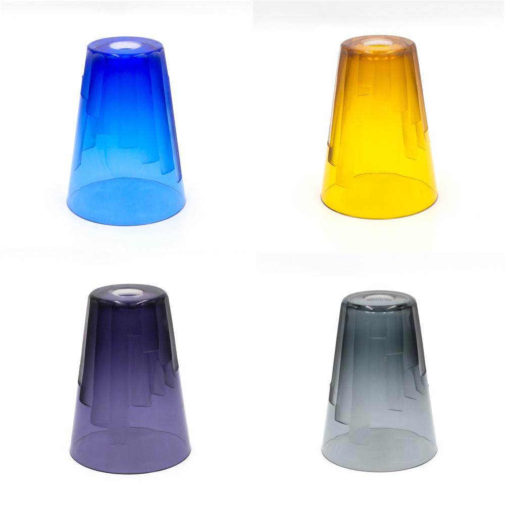 14 per cent lead crystal cut glass shades 2