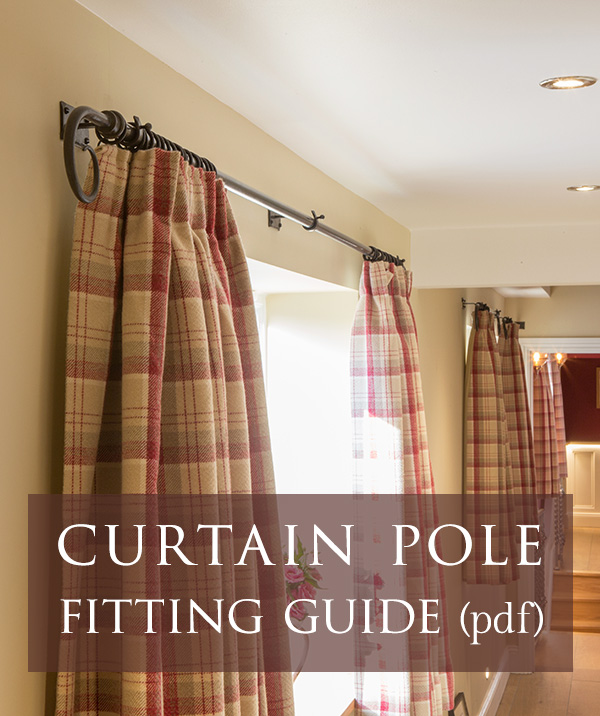 Curtain pole fitting instructions (PDF)