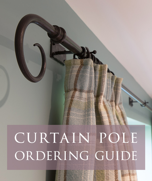 Guide to choosing curtain poles