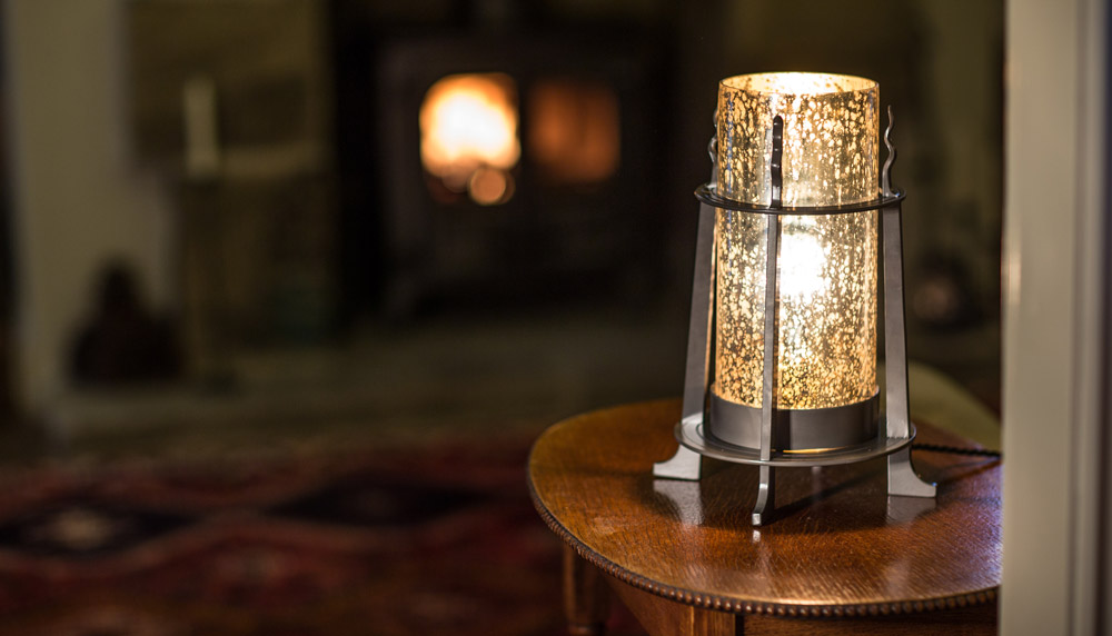 Introducing the Huthwaite table lamp