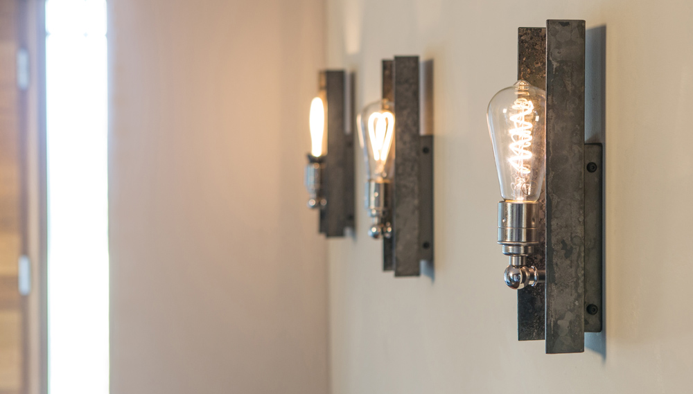 The Kelham wall light inspired by industrial design
