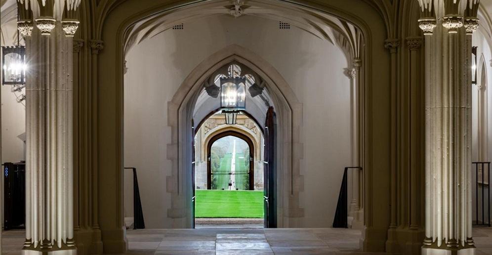 Lanterns for the Undercroft corridors at Windsor Castle